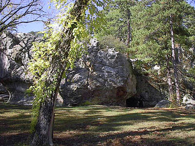 Photograph - Robbers Cave Oklahoma by Robyn Stacey