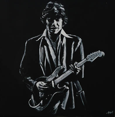 Robbies Painting - Robbie Robertson by Melissa O'Brien
