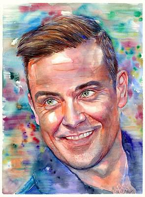 Robbie Williams Portrait Original