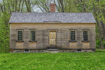 Farm Life Paintings Rob Moline - Robbins House by Brian MacLean