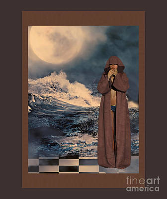 Mixed Media - Robed by Barbara Milton