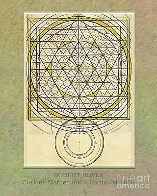 Digital Art - Robert Boyle - Curious Mathematical Forms 04 by Gabriele Pomykaj