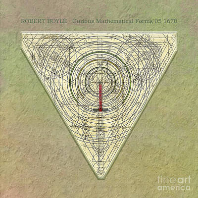 Digital Art - Robert Boyle - Curious Mathematical Forms 05 by Gabriele Pomykaj