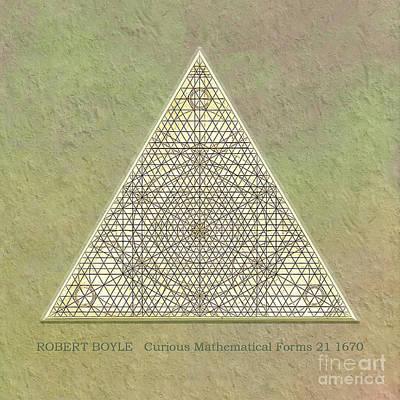 Digital Art - Robert Boyle - Curious Mathematical Forms 21 by Gabriele Pomykaj