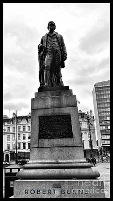 Photograph - Robert Burns At George Square by Joan-Violet Stretch