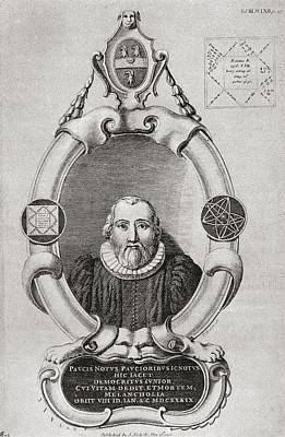 Robert Burton, 1577 To 1640. English Art Print
