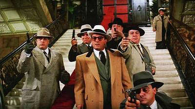De Niro Photograph - Robert De Niro As Al Capone The Untouchables Publicity Photo 1987 by David Lee Guss