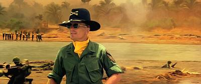 Robert Duvall @ Apocalypse Now Original by Gabriel T Toro
