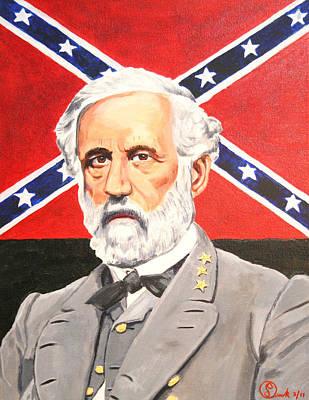 Robert E Lee Painting - Robert E. Lee by Robert Link