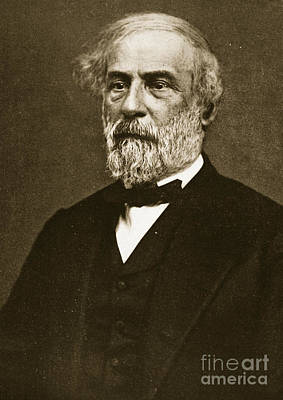 The General Lee Photograph - Robert Edward Lee by American School