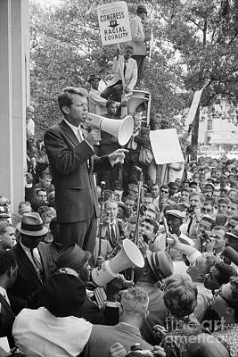 Photograph - Robert F. Kennedy by Granger