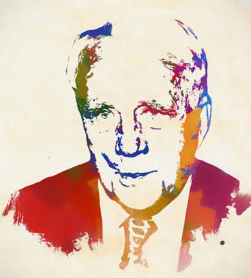 Painting - Robert Frost by Dan Sproul