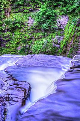 Robert H. Treman State Park Edge Ithaca Ny Art Print by Toby McGuire