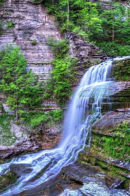 Photograph - Robert H. Treman State Park Flowing Water Ithaca Ny by Toby McGuire