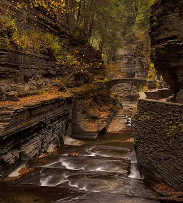 Finger Lakes Photograph - Robert H. Tremon Upper Gorge by J Allen