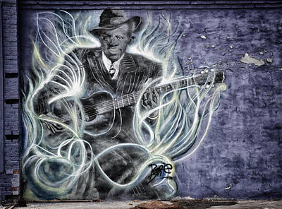Photograph - Robert Johnson Clarksdale by Steve Archbold