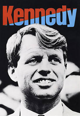 Robert Kennedy Campaign Poster Art Print by Daniel Hagerman