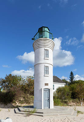Photograph - Robert Manning Memorial Lighthouse by Fran Riley