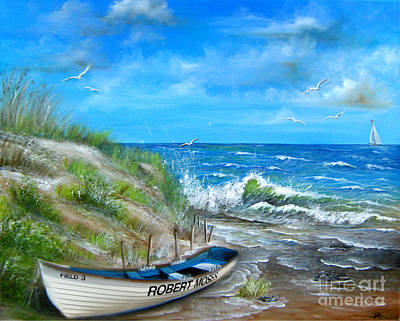 Painting - Robert Moses Beach by Patrice Torrillo