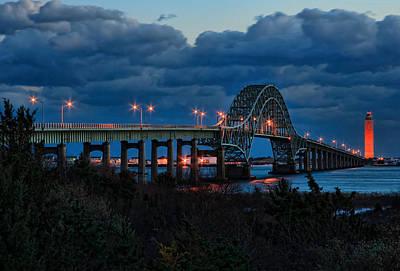 Robert Moses Bridge At Dusk Original