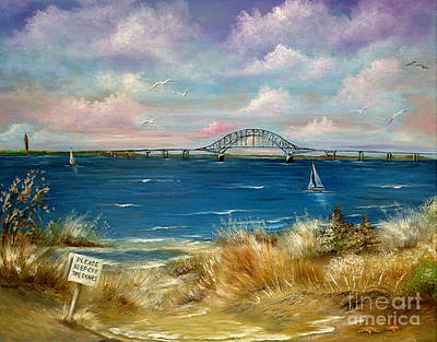 Painting - Robert Moses Bridge by Patrice Torrillo