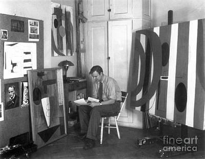 Photograph - Robert Motherwell by Granger