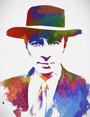 Painting - Robert Oppenheimer by Dan Sproul