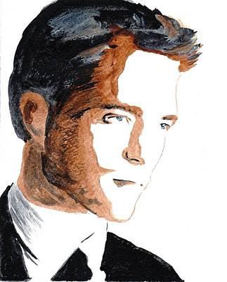 Robert Pattinson 18 Art Print by Audrey Pollitt