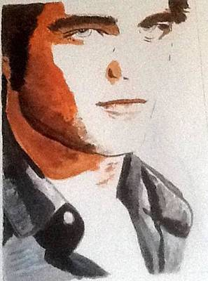 Painting - Robert Pattinson 336 by Audrey Pollitt