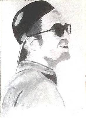 Painting - Robert Pattinson 349 by Audrey Pollitt