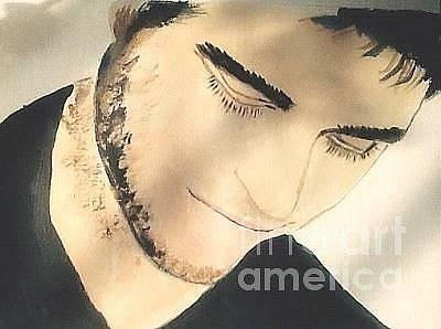 Painting - Robert Pattinson 368 by Audrey Pollitt