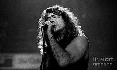 Robert Plant Performance Art Photograph - Robert Plant-0041 by Timothy Bischoff