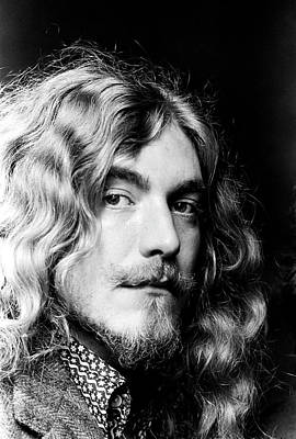 Print featuring the photograph Robert Plant Led Zeppelin 1971 by Chris Walter