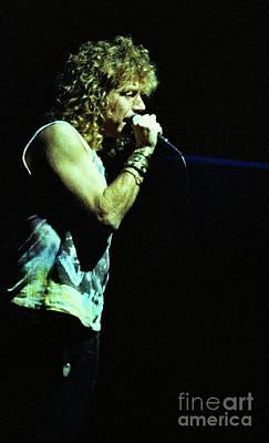 Robert Plant Performance Art Photograph - Robert Plant-88-3202 by Gary Gingrich Galleries