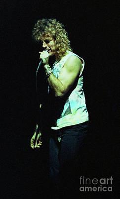 Robert Plant Performance Art Photograph - Robert Plant-88-3206 by Gary Gingrich Galleries