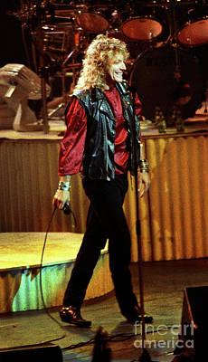 Robert Plant Performance Art Photograph - Robert Plant-88-3222 by Gary Gingrich Galleries