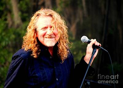 Robert Plant Art Print by Angela Murray