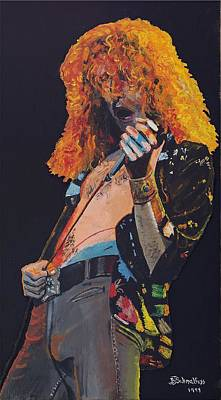 Robert Plant Original by Bruce Schmalfuss