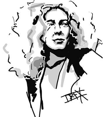 Robert Plant Art Print by Danielle LegacyArts