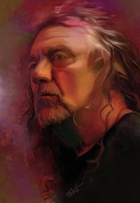 Robert Plant Mixed Media - Robert Plant by Mark Tonelli