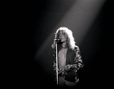 Robert Plant Of Led Zeppelin Art Print by Mike Norton