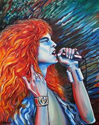 Robert Plant  Art Print by Yelena Rubin