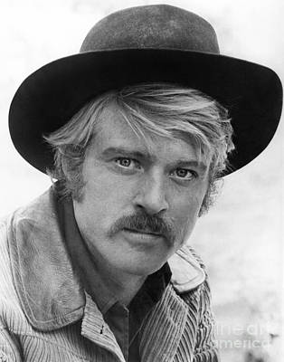 Robert Redford (1936-) Art Print