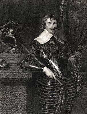 Robert Rich 2nd Earl Of Warwick, Baron Print by Vintage Design Pics