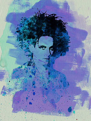 Concert Painting - Robert Smith Cure by Naxart Studio