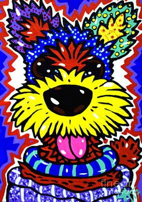 Sealyham Painting - Robert The Terrier by Jackie Carpenter