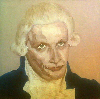 Painting - Robespierre Frowns  by Peter Gartner