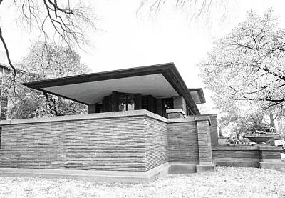 Photograph - Robie House - Infrared by David Bearden