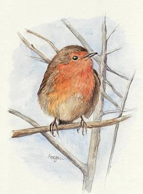 Robin Art Print by Morgan Fitzsimons