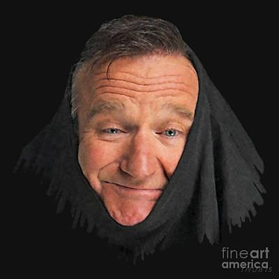 Robin Williams 2 Original by Stephen Shub